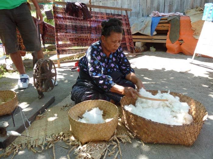 ikats coton fabrication artisanale