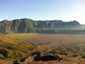 ile de java ile indonésienne volcan