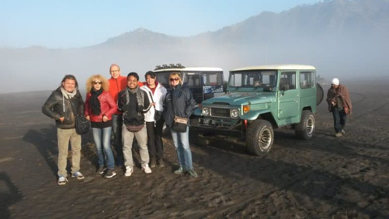 ile de java mont bromo volcan ascension