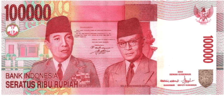 independance-indonesia-rupiah-currency