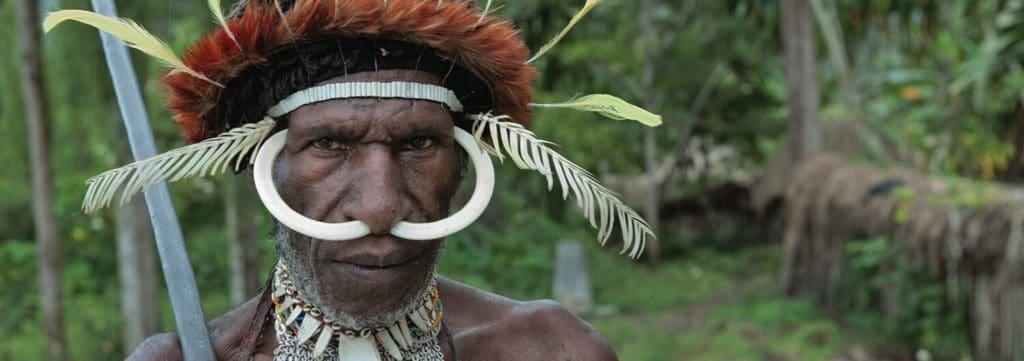 indonesie papouasie tribu papou