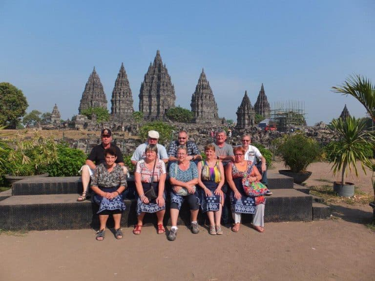 Prambanan ile de java indonésie circuit