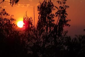 coucher de soleil bali