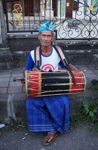 Gamelan instrument ubud bali