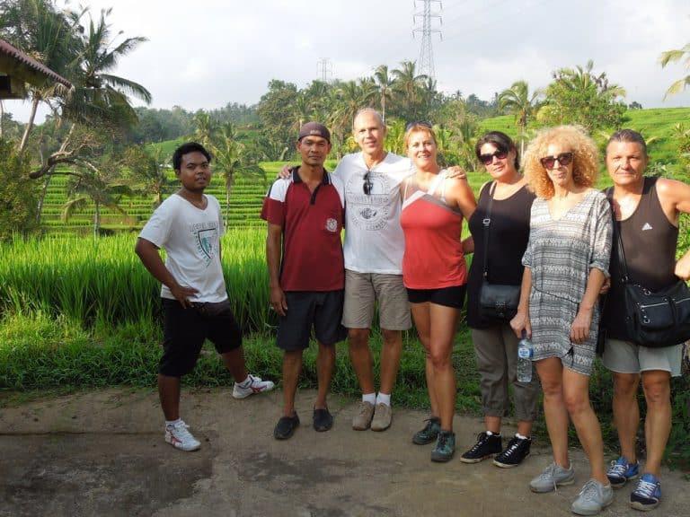 balade dans les rizières balinaises