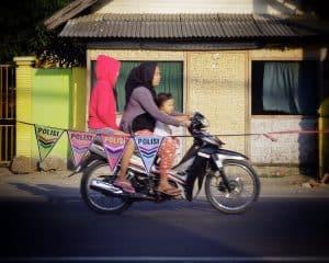ile de java à scooter indonésie