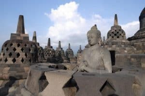 Java borobudur temple Bali Authentique