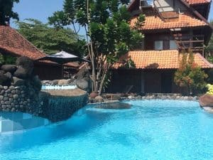 Java hotel resort swimming pool