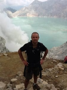 Java ijen volcano blue fire Bali Authentique client Philippe