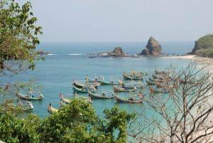 Java île boat port
