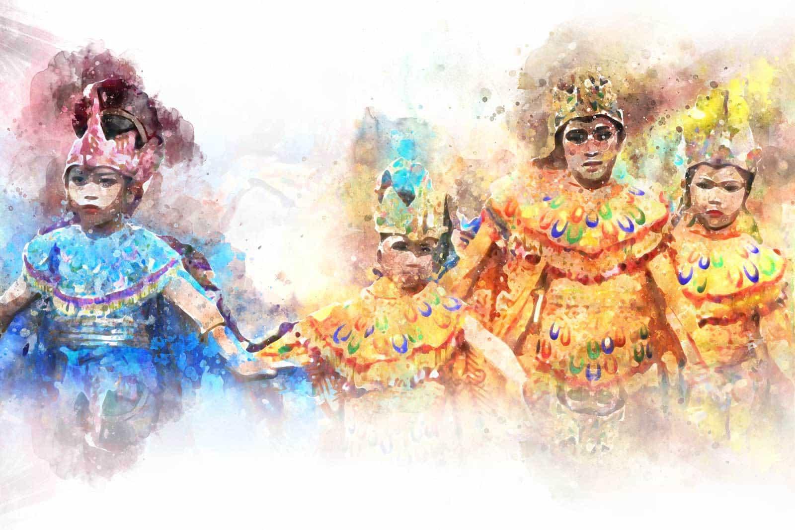 danceurs voyage Java