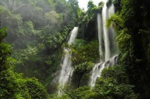 Java waterfall Bali Authentique