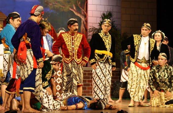 ketoprak theatre populaire à java