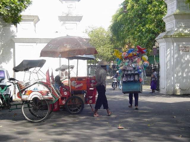 kraton yogyakarta monument emblematique
