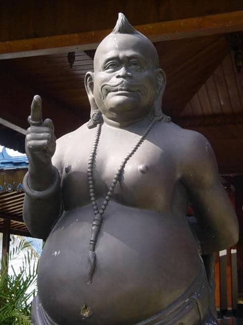 kraton yogyakarta statut bouddha