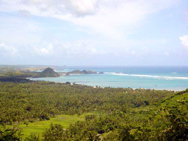 kuta lombok region indonesienne