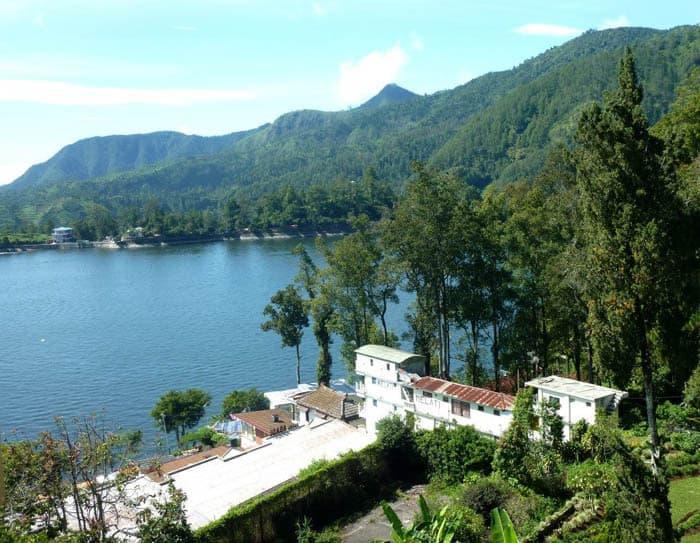 lac de serangan ile java paysage lac