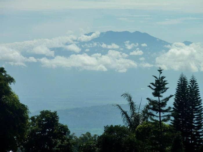 lac de serangan ile java paysage volcan