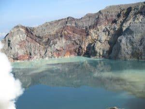 volcan ijen ile de java indonésie