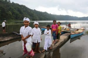 Tamblingan lac Bali indonésie