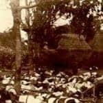 Les corps des sujets du roi de Badung