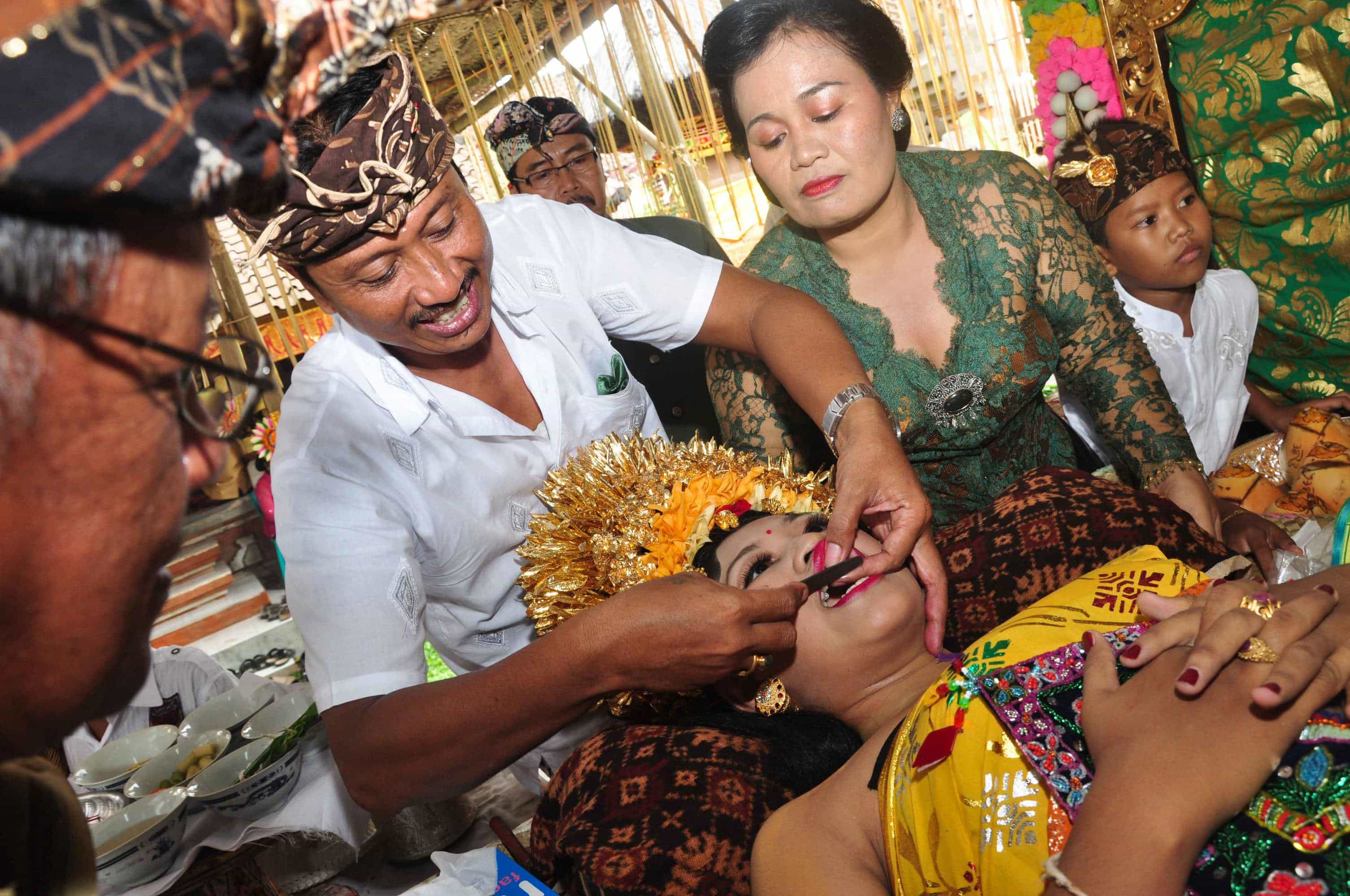 limage de dents bali tradition