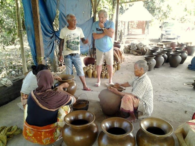 artisanat indonésien lombok