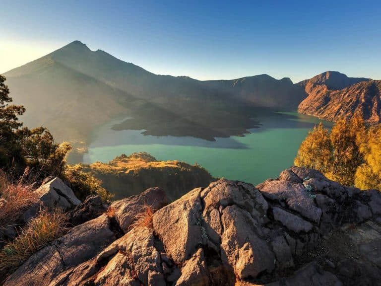 Lombok Rinjani trekk circuit Bali Authentique