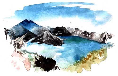 voyage Lombok volcan Rinjani