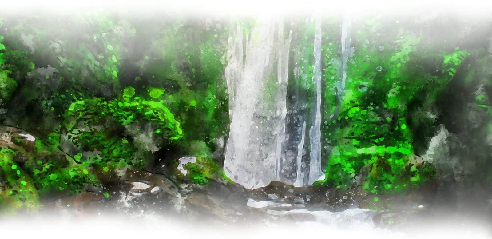 Lombok cascades design