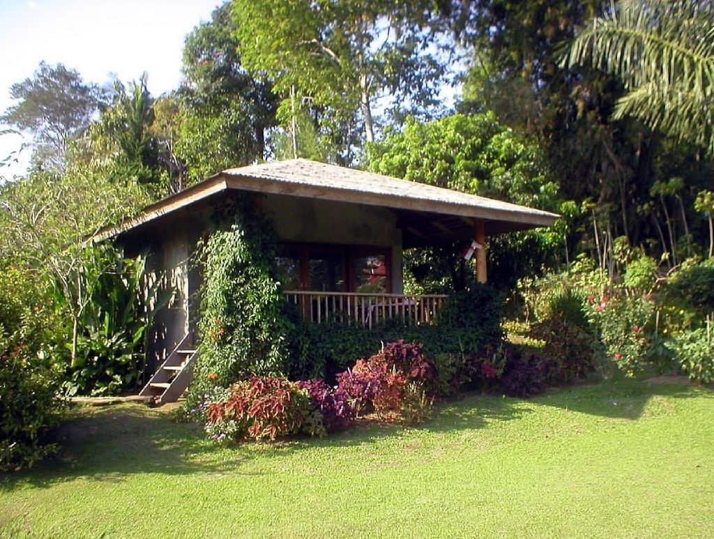 bungalow jardin fleuri