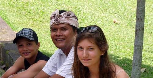 Made Danta Guide Bali Authentique Client