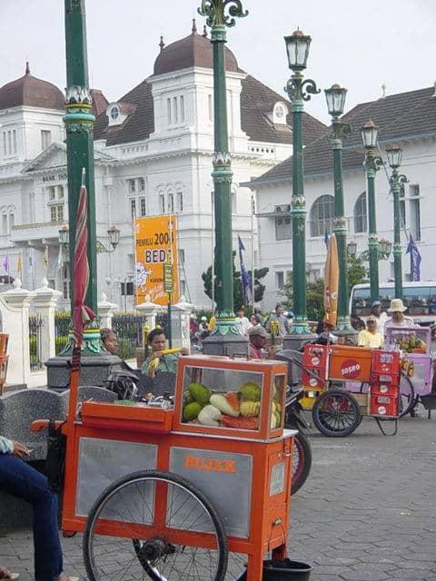 malioboro yogyakarta ile indonesie