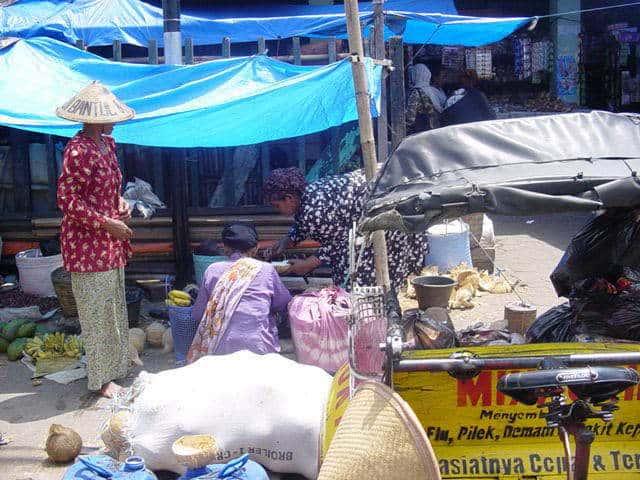malioboro yogyakarta indonesie fruits