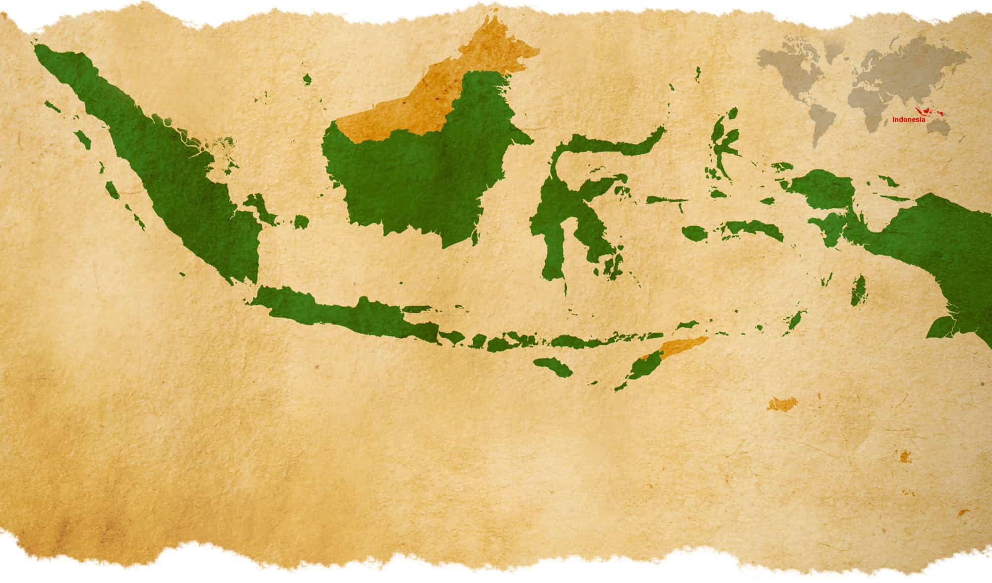 carte Indonésie Bali Authentique