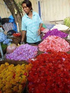 marché aux fleurs bali