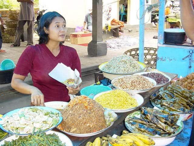 marché de gianyar bali marchandise