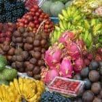 marché local indonésien fruit indonésie