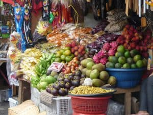 marché local fruits bali