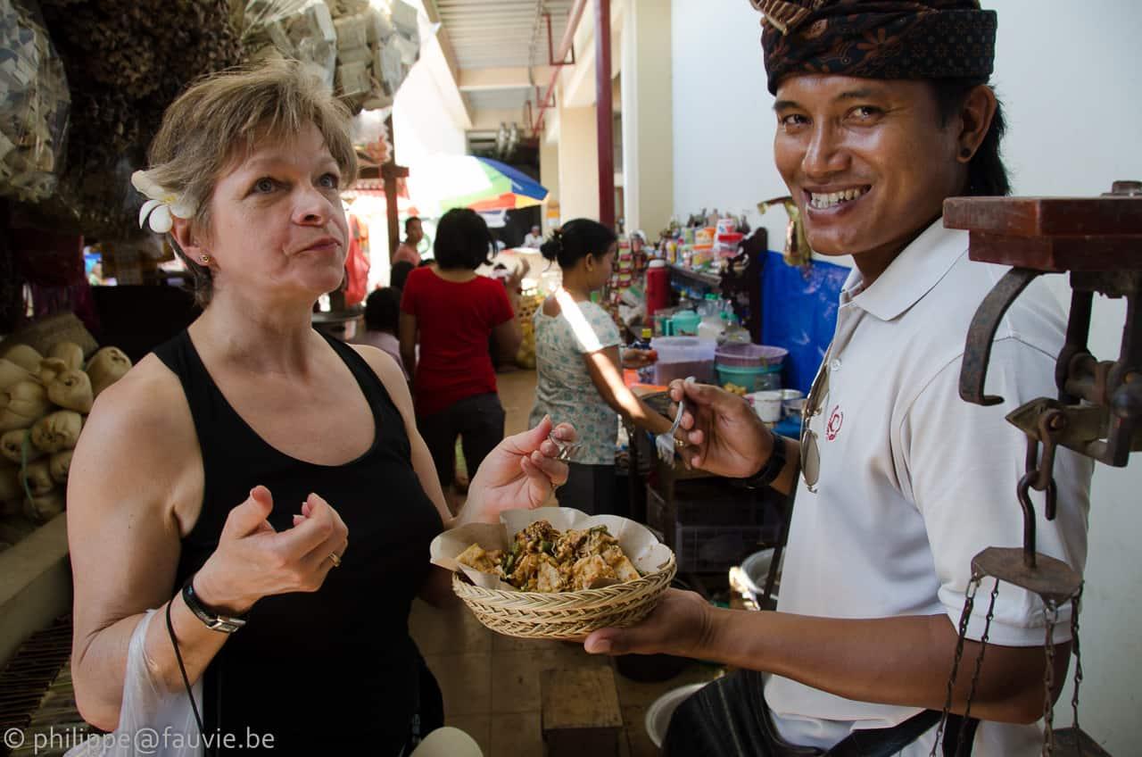 marché locale indonésie bali
