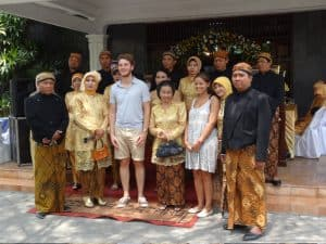 mariage locale javanais ile de java indonésie