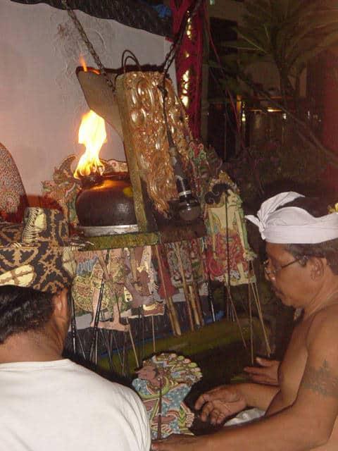 marionnettes bali galerie indonesie