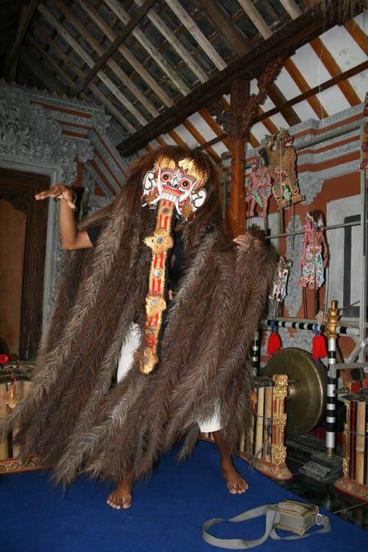 masque Bali rangda