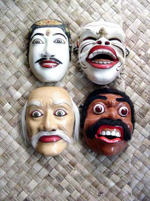 masques balinais theatre spectacle ile bali