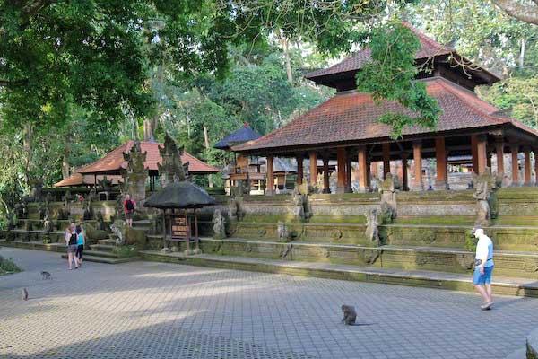 Monkey Forest Ubud Bali Temple Extérieur