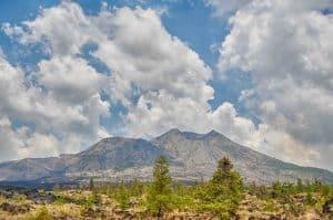 volcan mont batur paysage bali