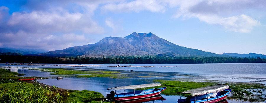 batur volcano mont bali trekking