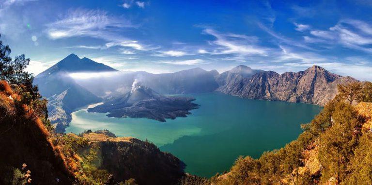 mont rinjani lombok volcan trek