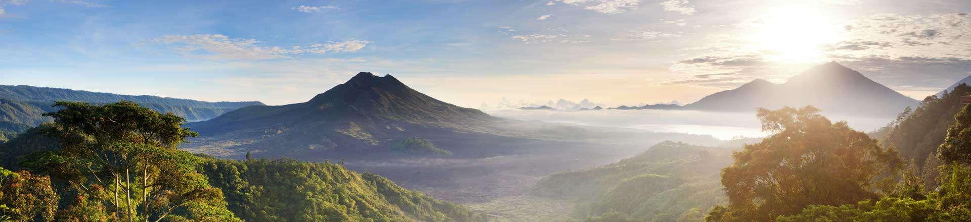 Mont Batur Bali Volcan Caldeira Indonésie