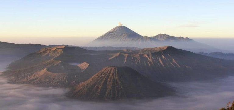 volcan Bromo ile de Java